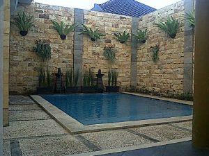 Villa di Batu Fasilitas Kolam Renang